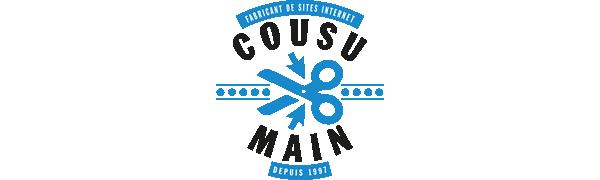 Cousu Main - Fabriquant de sites internet depuis 1997